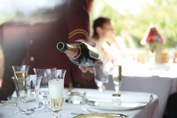 Fine dining aboard the Northern Belle
