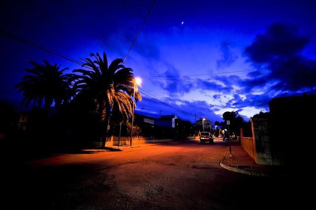 Mallorca night scene