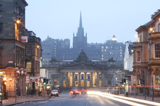Visitng Edinburgh