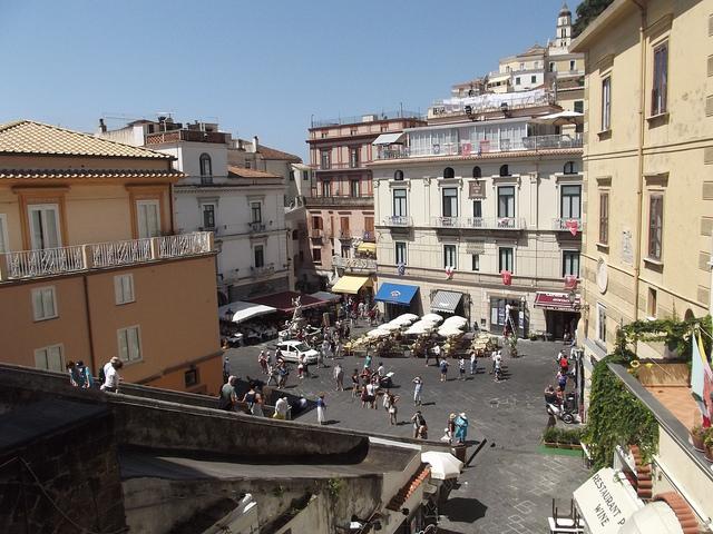 Square in Pisa