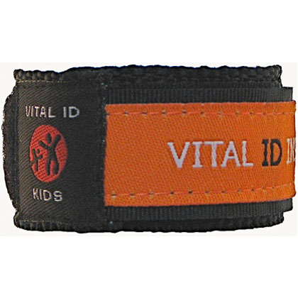 Win child safety ID bands