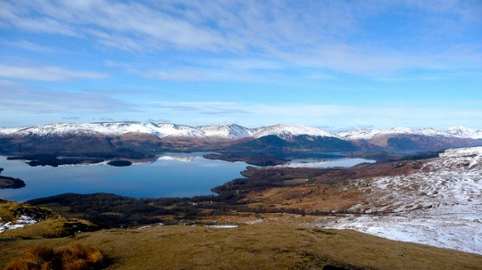 Conic Hill, West Highland Way, Scotland