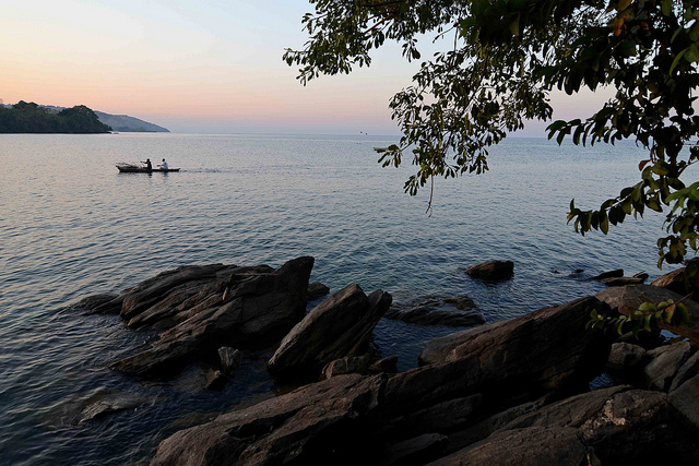 Diving on Lake Malawi