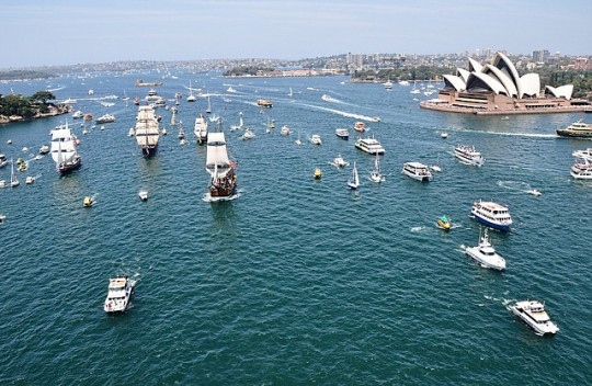 Australia Day Flotilla at Sydney