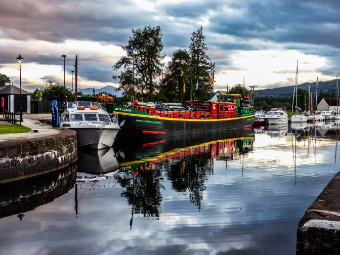 Barging on Scotland's Caledonian Canal